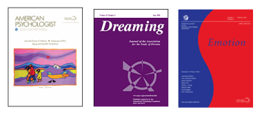 Noen av tidsskriftene i PsycARTICLES