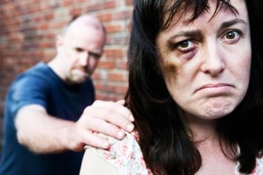 Kvinne som har blitt slått
