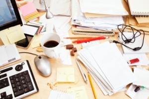 rotete skrivebord