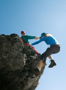 To fjellklatrere