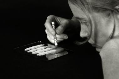 Kokainsniffing