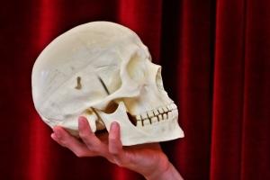 Det mest unormalee med Hamlet var hans vidd og intellekt. Ill.foto: Colourbox