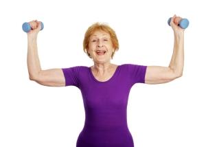 Eldre som trener, har mindre risiko for Alzheimers. Ill.foto: lisafx, istockphoto.