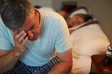 søvnløs mann