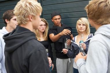 Tenåringer som drikker alkohol