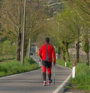mann som går