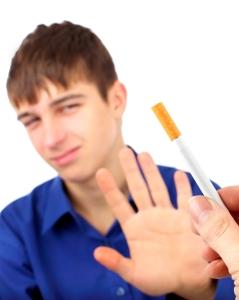 Nei til sigaretter