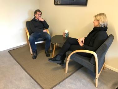 psykoterapi hos Tøyen DPS, psykolog Gine Mekjan