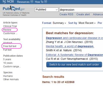 PubMed-søk